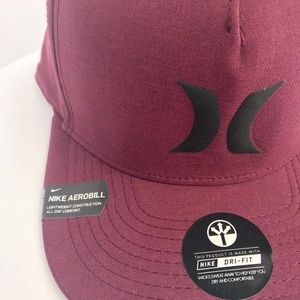 info for f3b8d 64817 Hurley Accessories - Hurley Dri-Fit Icon 3.0 Nike Flexfit Snapback Hat